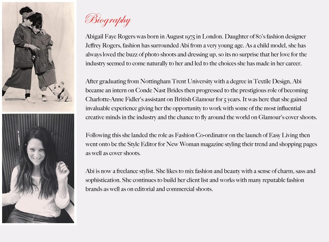 Biography of fashion designers 36